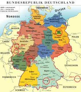 Découvrir l'Allemagne