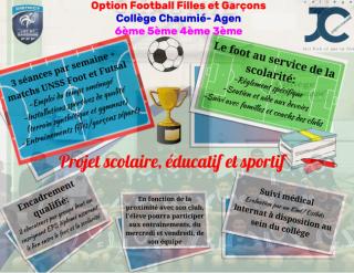 Option Football Filles et Garçons 2019/2020
